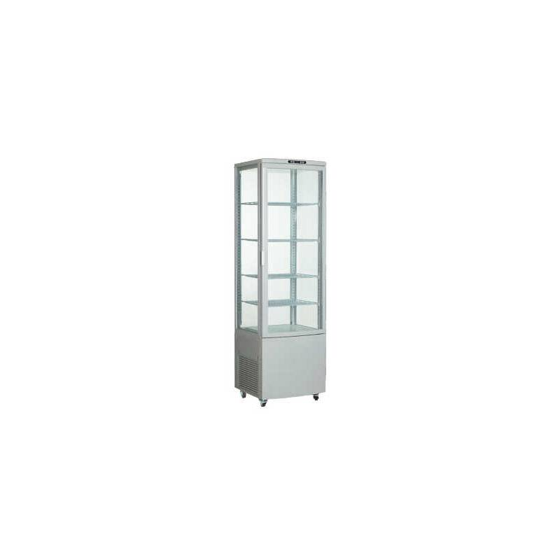 Expositor vitrina Refrigerado 4 Caras 235 litros Blanco
