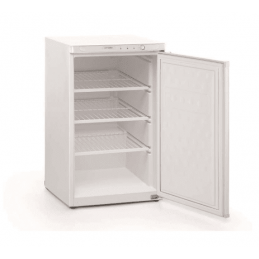 Congelador Vertical 84 litros Puerta Ciega con estantes