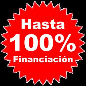 Financiación hasta el 100x100  en todos nuestros productos.